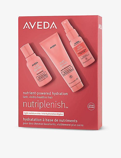 AVEDA: Nutriplenish light moisture trio