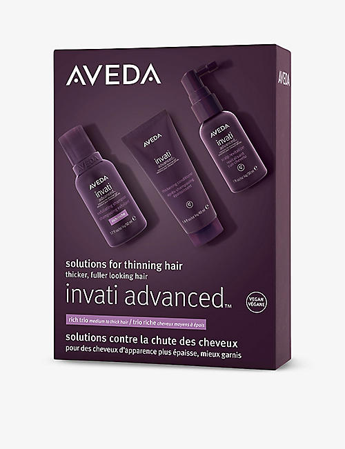 AVEDA: Invati Advanced Rich trio