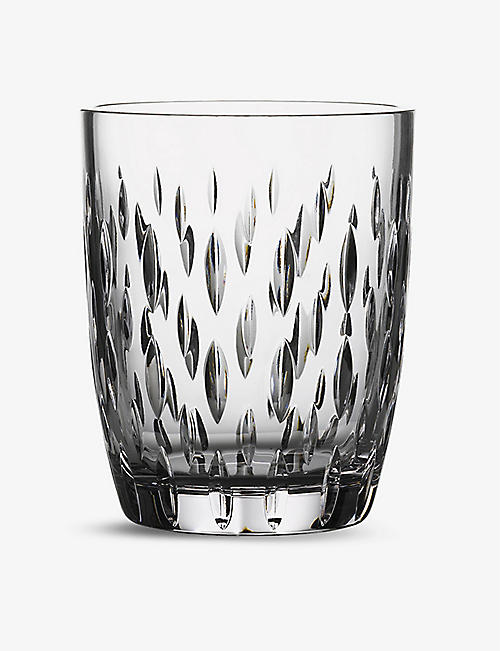 WATERFORD: Enis Hurricane large crystal candleholder 18cm