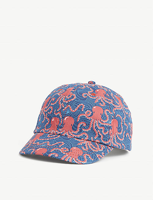 BARTS AL: Saki graphic-print cotton cap