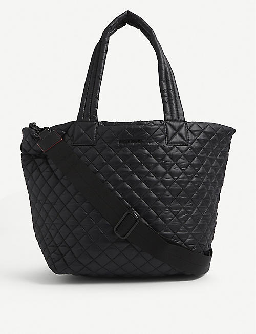MZ WALLACE: Metro large quilted nylon tote bag