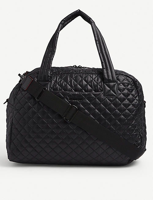 MZ WALLACE: Jim quilted shell duffel bag