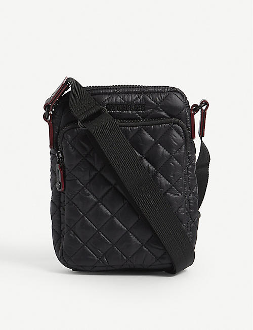 MZ WALLACE: Metro quilted nylon cross-body bag