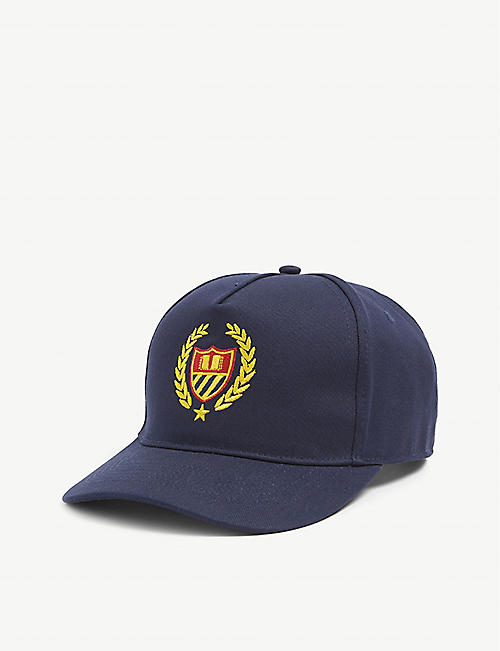 BELAIR ATHLETICS: Crest logo-embroidered cotton-twill baseball cap