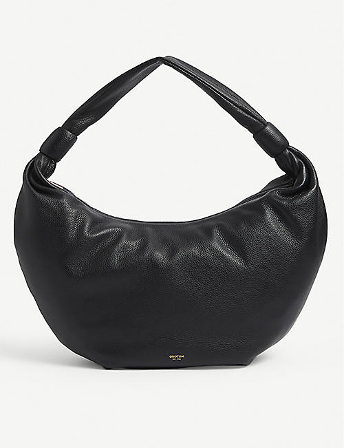 OROTON: Malin leather shoulder bag