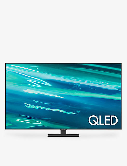 "SAMSUNG: 75"" Q80A QLED 4K Smart TV"