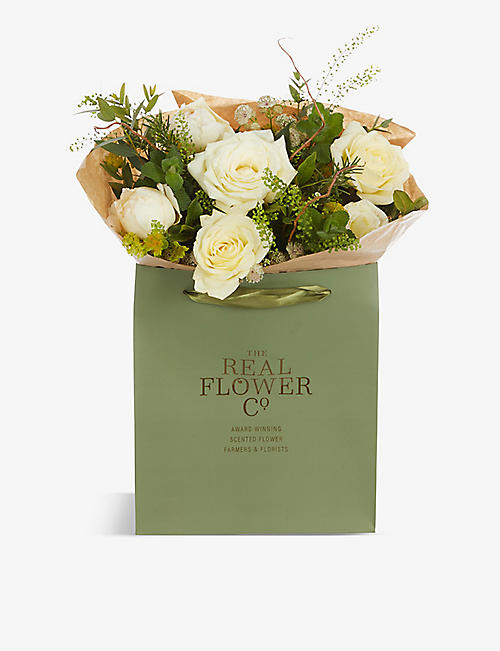 THE REAL FLOWER COMPANY: Mothers Day Radience scented posy