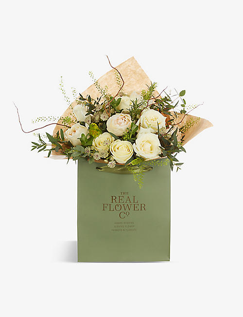 THE REAL FLOWER COMPANY: Mother's Day Radience small scented bouquet