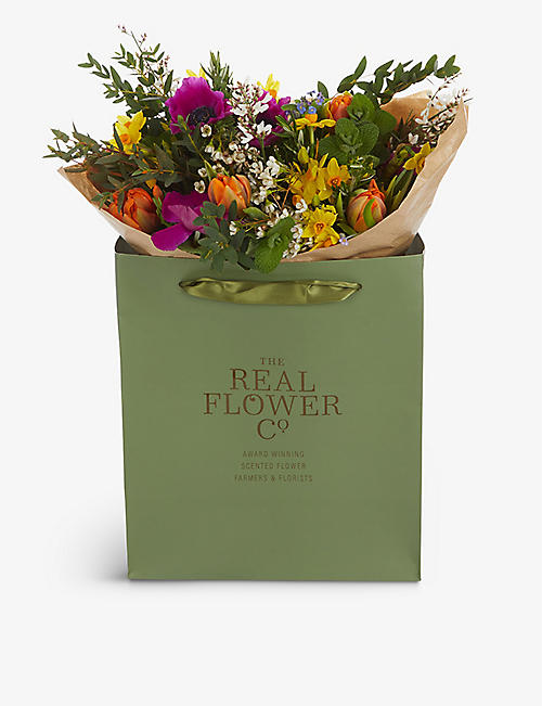 THE REAL FLOWER COMPANY: Mother's Day Spring Garden medium bouquet