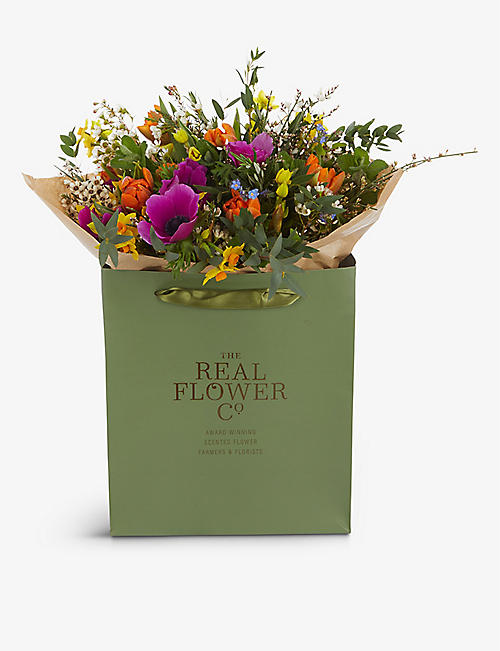 THE REAL FLOWER COMPANY: Mother's Day Spring Garden large bouquet