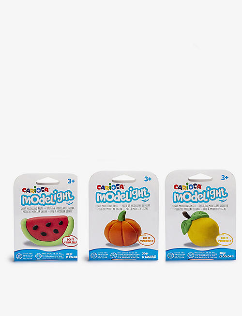 CARIOCA: Model Light Fruit Pot modelling paste assortment