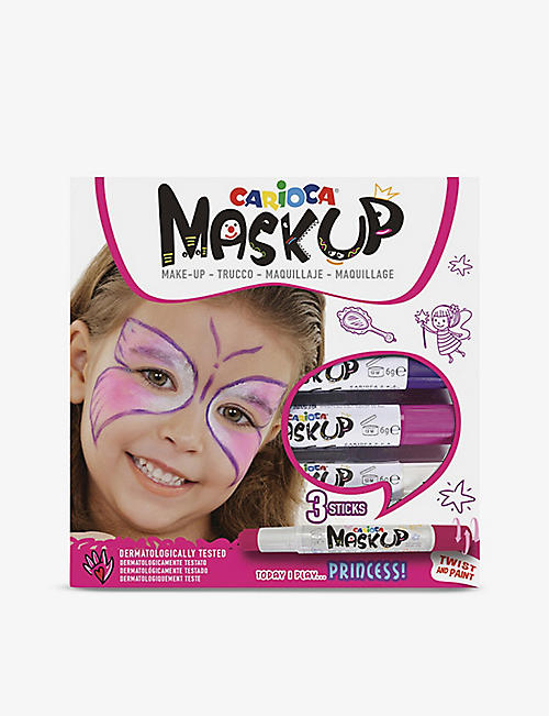 CARIOCA: Mask Up Princess face paint sticks set of three