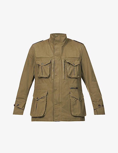 BARBOUR: Corbridge cotton jacket