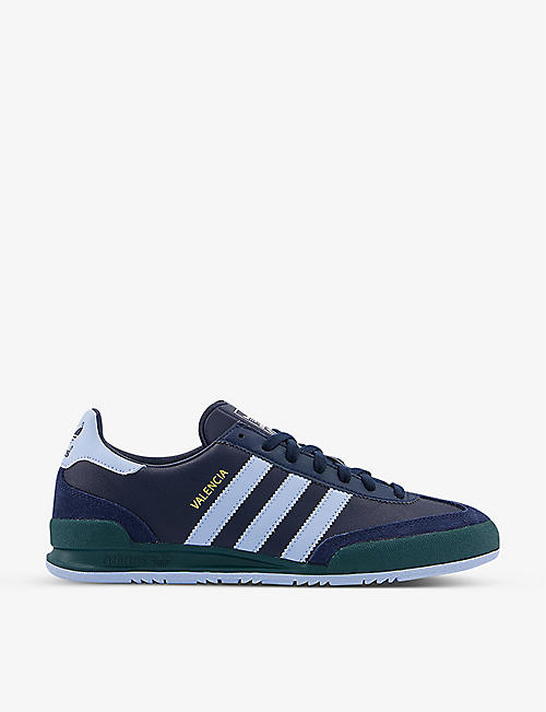ADIDAS: Valencia leather trainers