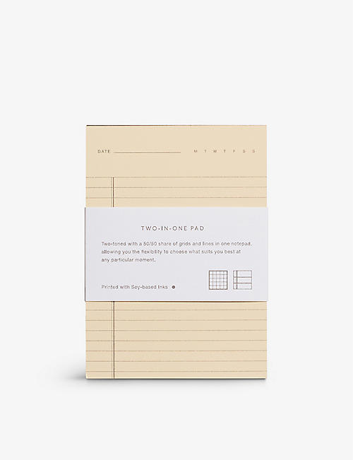 BEFORE BREAKFAST: Two-in-One grid and line notebook