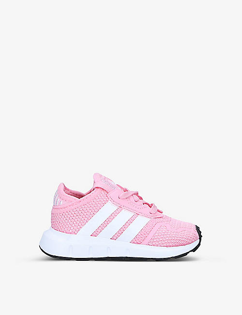 ADIDAS: Swift Run X woven trainers 6-12 months