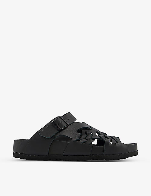 BIRKENSTOCK: Birkenstock x CSM Tallahassee Archive Re-Issue Style leather sandals
