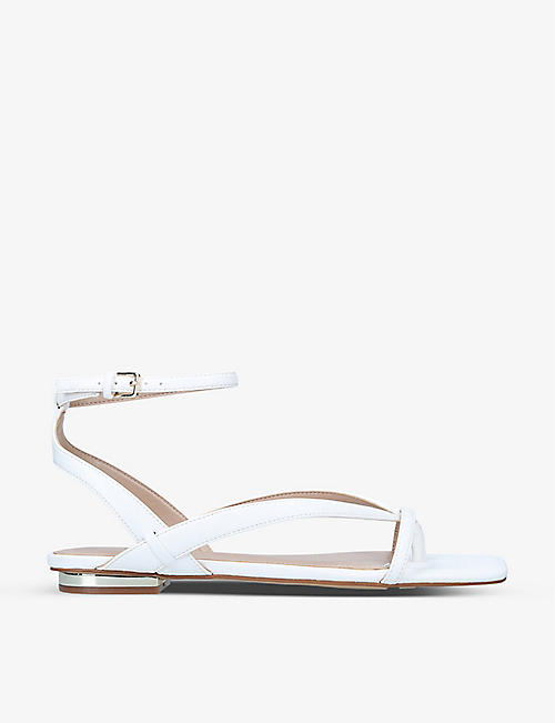 ALDO: Rhigoni two-post faux-leather sandals