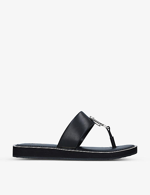 ALDO: Tatyx buckle-detail two-post sandals