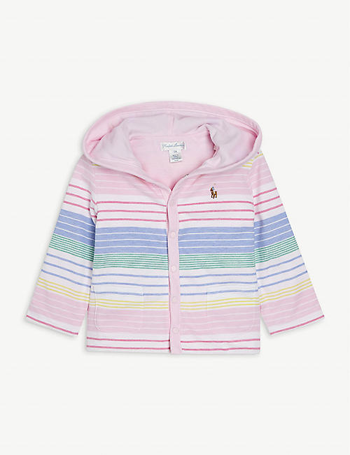 RALPH LAUREN: Reversible cotton jacket 3-24 months