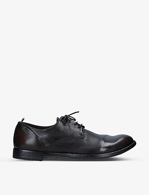 OFFICINE CREATIVE: Arc 515 leather Derby shoes
