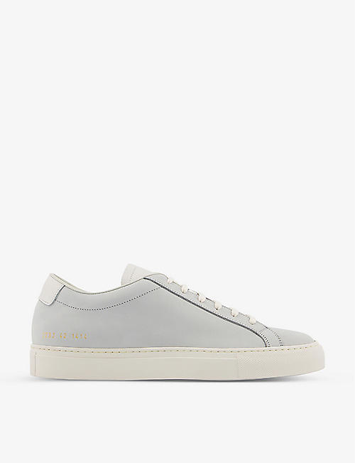 COMMON PROJECTS: Achilles low-top leather trainers