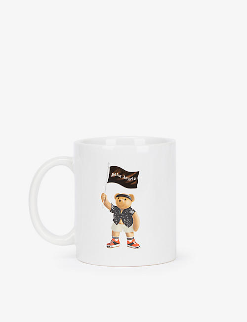 PALM ANGELS: Pirate Bear ceramic mug