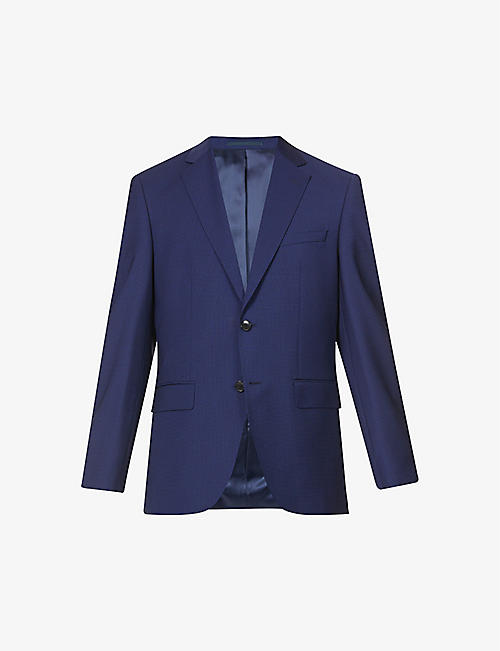 BOSS: Regular-fit single-breasted wool suit