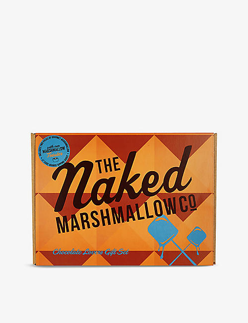 THE NAKED MARSHMALLOW: Chocolate Lovers gourmet gift set 360g