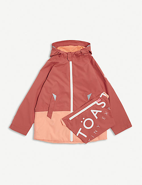 TOASTIE: Pac-a-Mac Lite recycled polyester raincoat 1-12 years