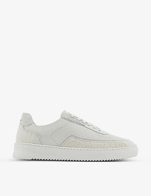 FILLING PIECES: Mondo Ripple Decon leather trainers
