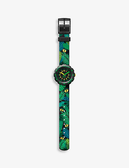 FLIK FLAK: Eye See U bio sourced-plastic and recycled-PET quartz watch