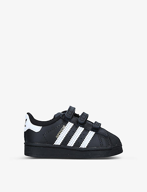 ADIDAS: Superstar leather trainers 1-5 years