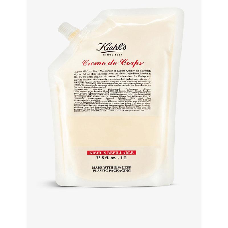 Kiehl's Since 1851 Crème De Corps Body Moisturiser Refill Pouch 1l