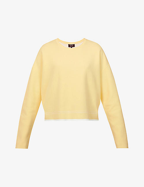 ME AND EM: Reversible cotton-blend sweatshirt