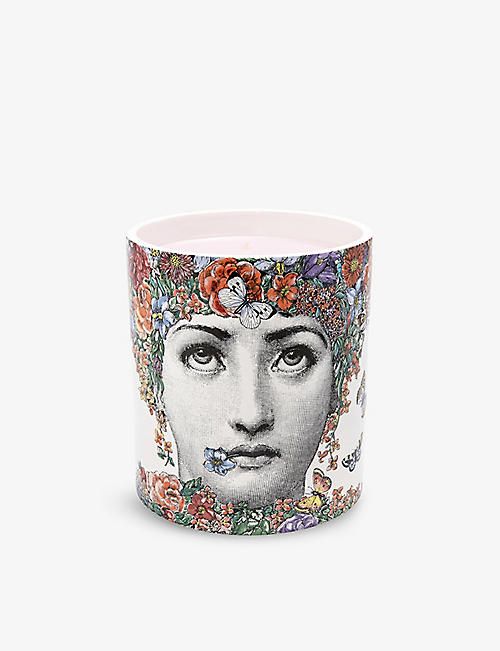FORNASETTI: Flor di Lina scented candle 1.9kg