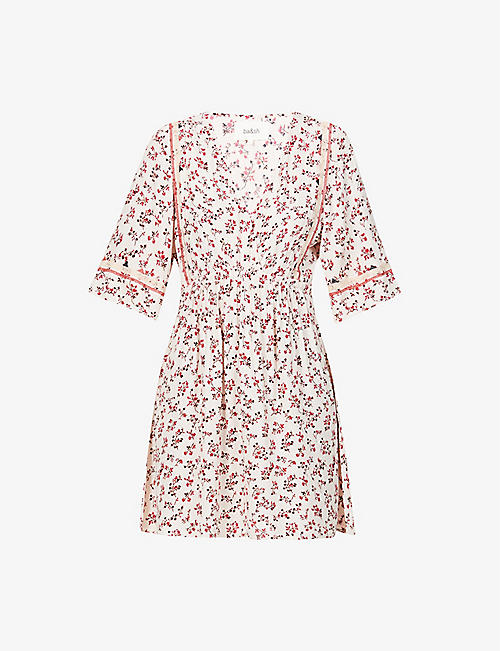 BA&SH: Sete ditsy floral-print woven mini dress