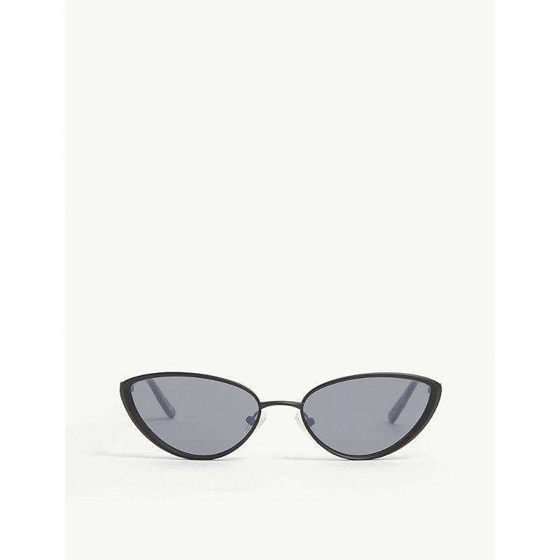 Heartbreaker cat-eye metal-frame sunglasses