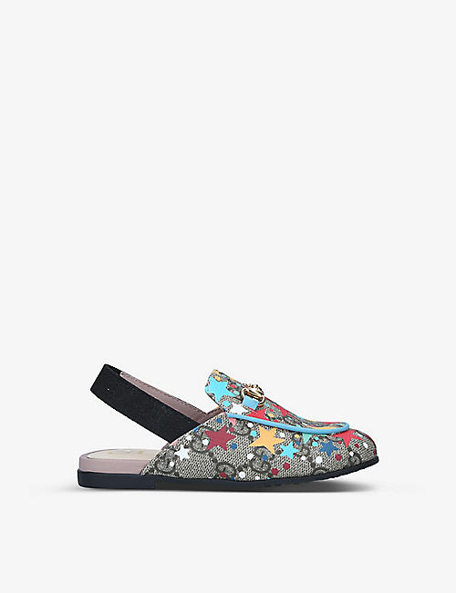 GUCCI: Princetown GG Star loafer 3-5 years