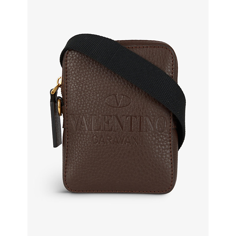 Valentino IDENTITY SMALL LEATHER CROSS-BODY BAG