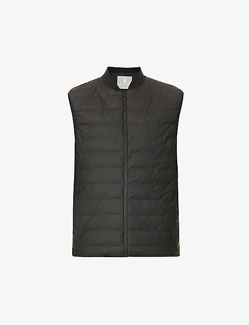 RAINS: Trekker zip-up shell gilet