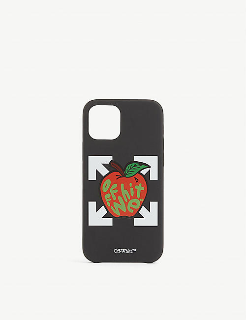OFFWHITE: Apple logo-print iPhone Pro case
