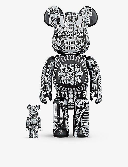 BE@RBRICK: H.R. Giger 100% and 400% figures