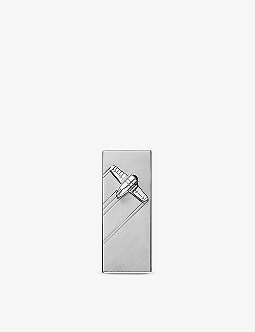 CARTIER: Santos stainless steel money clip