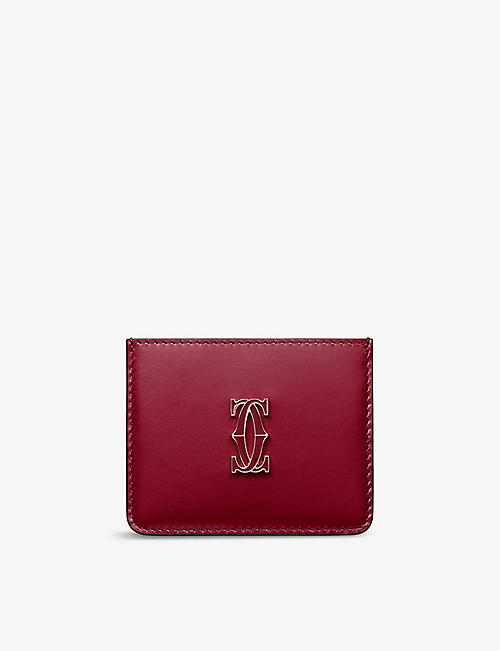 CARTIER: Must de Cartier leather card holder