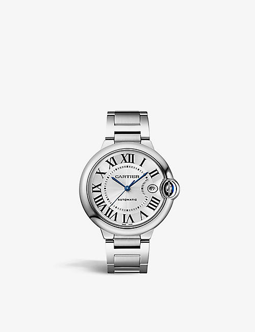 CARTIER: CRWSBB0040 Ballon Bleu de Cartier stainless-steel automatic watch