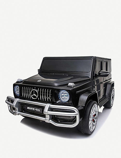 RICCO: Licensed Mercedes Amg 63 G Wagon two-seater battery-powered electric ride-on toy car