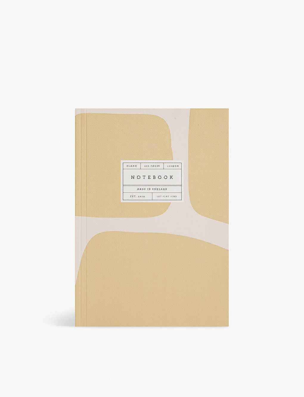 Giraffe graphic-print lay-flat 300-page A5 notebook