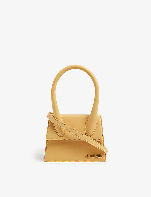 JACQUEMUS: Le Chiquito top-handle leather cross-body bag