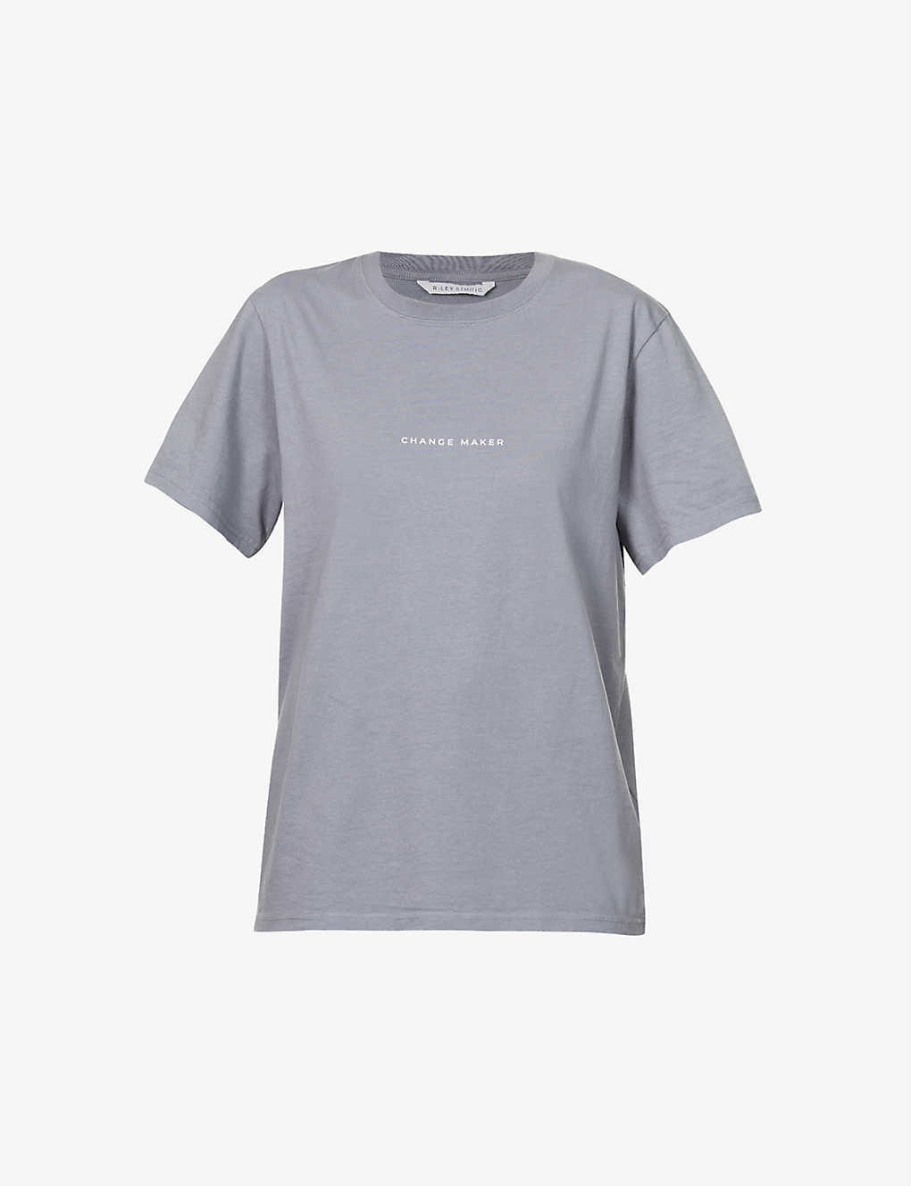 Change Maker organic and recycled cotton-blend T-shirt